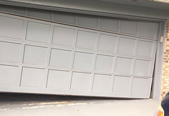 Garage Door Off Track In Outer Mission